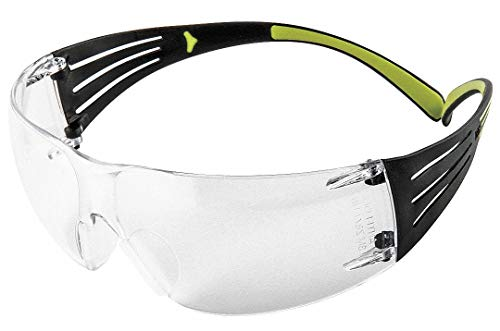 Review 3M SF401AF SecureFit 400 Series Protective Eyewear, Clear Lens, Anti-Fog