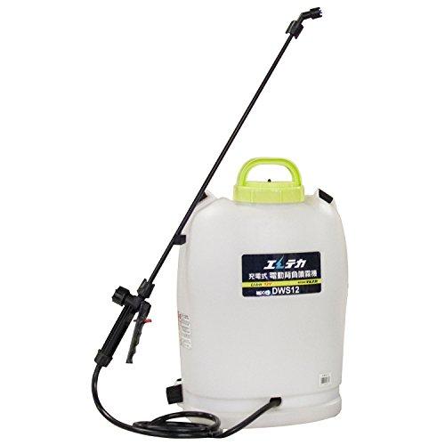 マルナカ 充電式 電動背負い噴霧器 (12L) DWS12