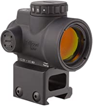 Trijicon MRO-C-2200006 1x25mm Miniature Rifle Optic (MRO) Riflescope with 2.0 MOA Adjustable Red Dot Reticle with Lower 1/...
