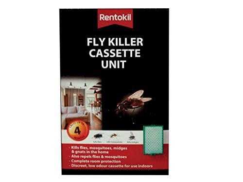 Rentokil FFL10 Unité de cassette anti-mouches Noir