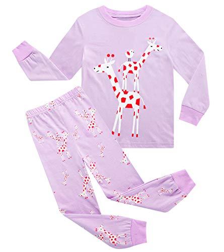 Pijama Jirafa Niña  marca AmzBarley