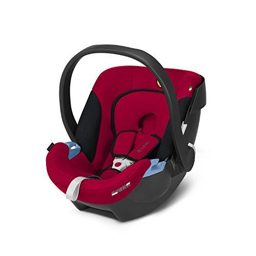 CYBEX Silver, Seggiolino Aton Scuderia Ferrari, Incl. Riduttore per Neonato, dalla Nascita fino a ca. 18 mesi, Max. 13 kg, Racing Red