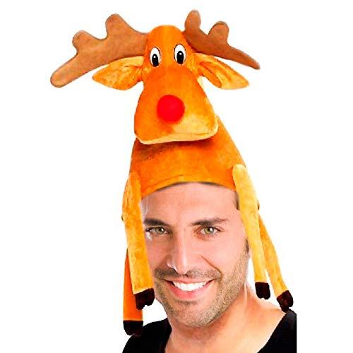 Partilandia Gorro Navidad Reno Rudolf