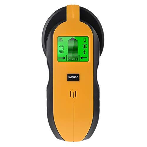 Mi Tu 4 en 1 Buscador de tornillos escáner de pared detector de centro para cable de CA, metal, tachuelas, profundo