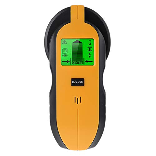 BIlinli 4 in 1 Stud Finder Wall Scanner Center Detector for AC Wire, Metal, Studs, Deep