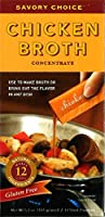Savory Choice Chicken Broth Concentrate, 5.1 Ounce box by Savory Choice