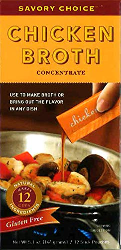Savory Choice Chicken Broth Concentrate, 5.1 Ounce box