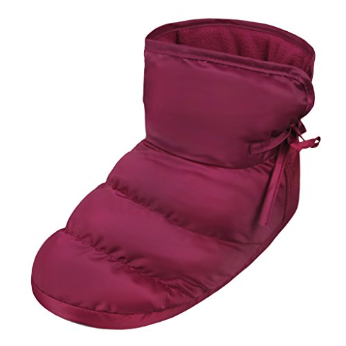 Warm Indoor Down Slippers Anti-Skid Insulated Boots Winter Home Shoes Cozy Footwear