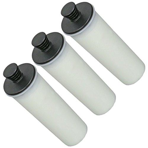 SPARES2GO - Cartuccia per filtro anticalcare, per pulitore a vapore Karcher SC3, confezione da 3