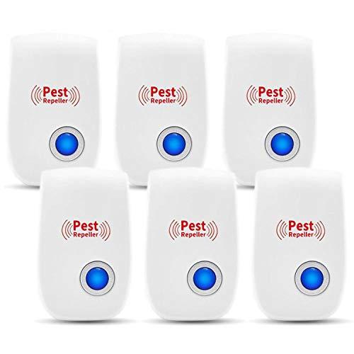 Ultrasonic Pest Repeller 6 Pack