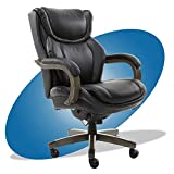 LaZBoy Big & Tall Executive Office Comfort Core Cushions, Ergonomic High-Back Chair with Solid Wood...