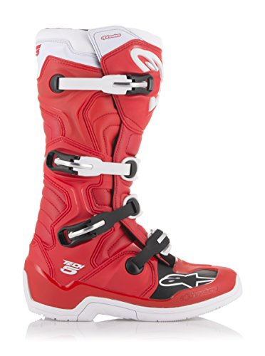Tech 5 Off-Road Motocross Boot (12 US, Red White)