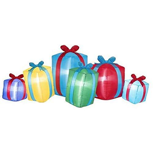 Gonfiabile Regali Di Natale Con Doni Gonfiabili Luci a LED L