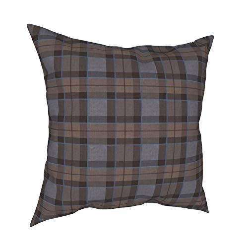 Throw Pillowcase Kissenbezüge 45x45cm Tartan Dekoration für Home Decor Office Sofa Holiday Bar Kaffee Hochzeit Auto