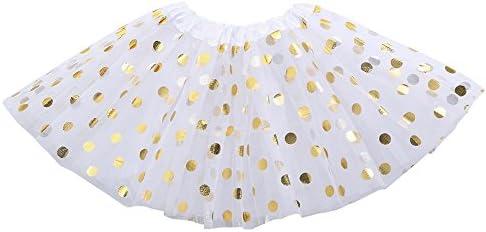 feiXIANG Ropa Infantil Niña Princesa Vestido Estrella Lentejuelas Princesa Tutu Fiesta de la Moda Falda de Baile Tutu Disfraces Negro Cinco Cyber Lunes