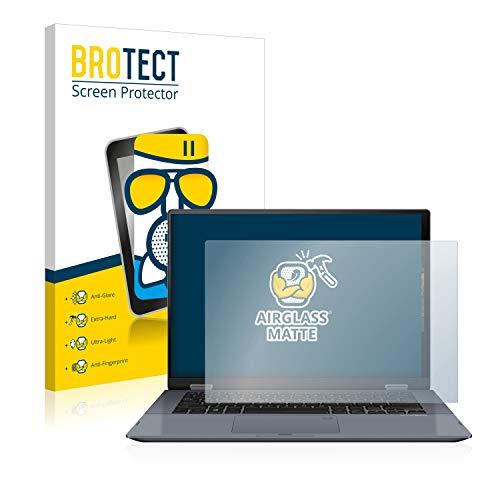 BROTECT Protector Pantalla Cristal Mate Compatible con ASUS VivoBook Flip 14 TP412UA Protector Pantalla Anti-Reflejos Vidrio, AirGlass