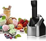 Máquina de fabricante de helados Portátil - Máquina de helado de sirviente suave de la fruta, fabricante de helados para el hogar hace sorbetes de helados deliciosos y creador de yogurt congelado