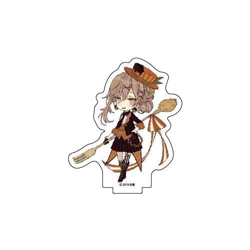 チョコケーキ6姉妹 04 オレンジチョコケーキ アクリルぷちスタンド