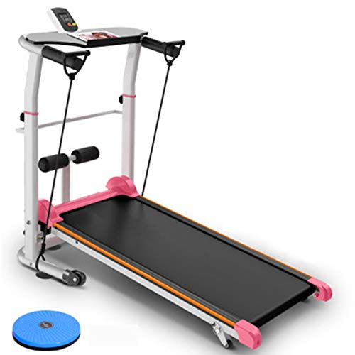 New Treadmill Mechanical Treadmill Folding Multifunction Space Saver Fitness Running Machine Running...