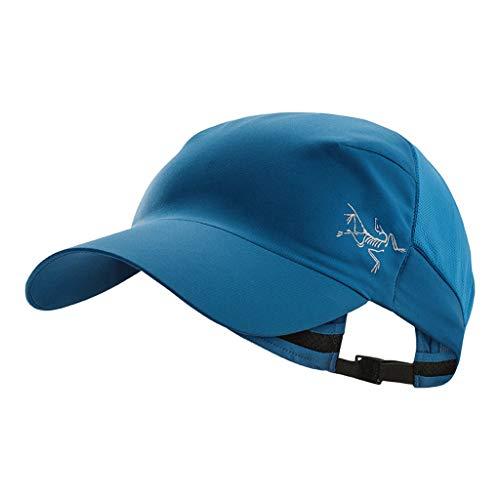 MMD-women's hat Moda Gorra de Entrenamiento de montañismo al Aire Libre Arcteryx Archaeopteryx Unisex Gorra de béisbol Gorra de Calvus Suave (Color : D)