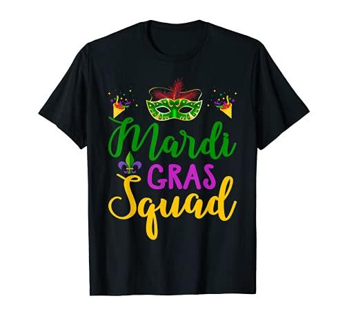 Mardi Gras Squad Funny Mardi Gras Parade regalo para Mardi gras Camiseta