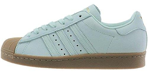adidas Superstar 2 W BY9054 Damen Sneakers/Freizeitschuhe/Low-Top Sneakers Grün 40 2/3