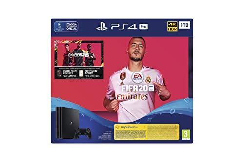 PlayStation 4 (PS4) +FIFA20 FUTVCH Psy 14 días PS4 Pro 1TB G SPA