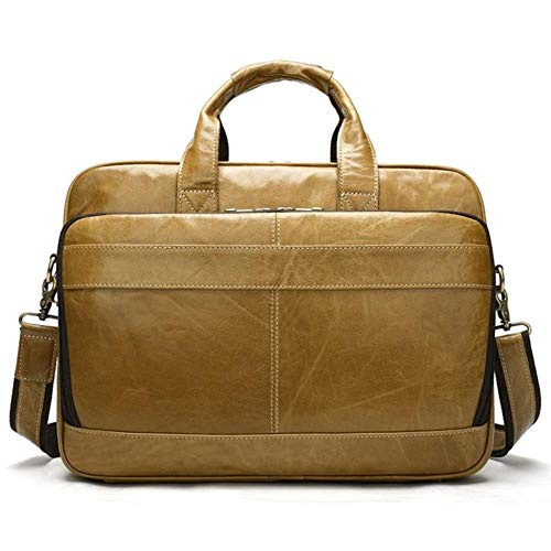 FICI Heren aktetas mannen leren tas kantoor tassen man lederen laptop tassen mannelijke tote aktetas
