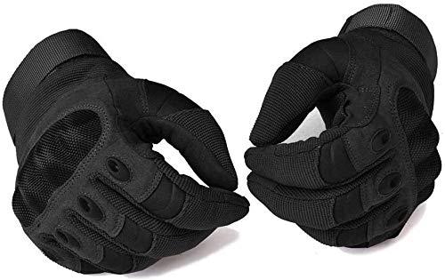 COTOP Motorrad Handschuhe, Hard Knuckle Handschuhe Motorrad Handschuhe Motorrad ATV Reiten Full Finger Handschuhe für Männer (M) - 4