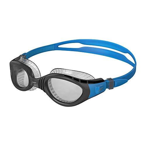 Speedo Futura Biofuse Flexiseal Schwimmbrille, Pool/Dunkelgrau/Smoke, One Size