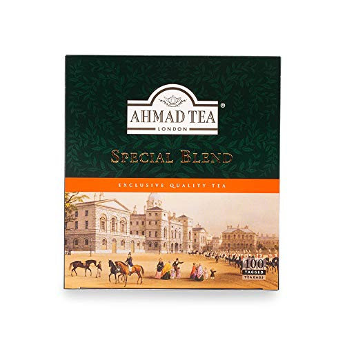 Ahmad Tea Special Blend Teabags with Tags, 100 Count