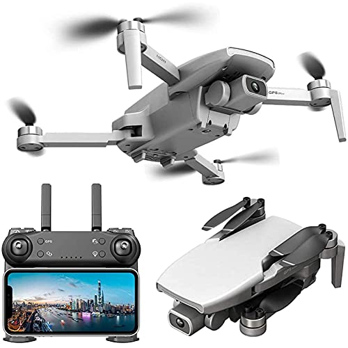 DCLINA Droni GPS con Fotocamera UHD 4K e Fotocamera Inferiore 1080P WiFi FPV 5GHz Live VideoQuadcopter 1000M Distanza Volo Zoom 50x Antivento