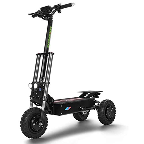 A&DW 60V 3000W Scooter Elektro 3 Rad Erwachsene Gepäck Scooter Elektro Heavy Duty Breitreifen-E-Roller