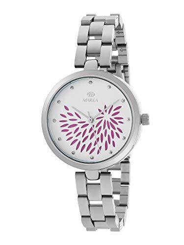 Reloj Marea Analógico Mujer B41243/1 Armis Acero y Esfera Fucsia