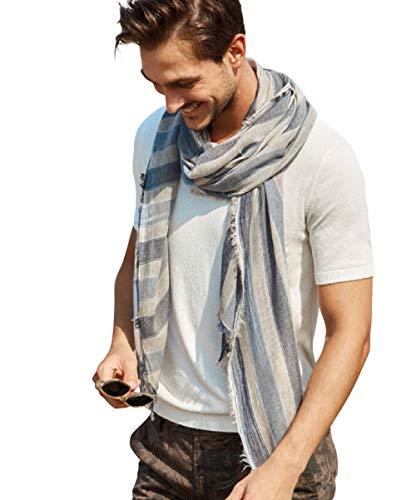 Hilltop Herren Schal, Herren Hasltuch, Herbst Tuch, Geschenk für Männer