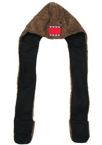 Domo-Kun Domo Face Furry Spirit Hood Snood chapeau