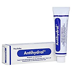 Antihydral Non-Irritating Cream For Hyperhidrosis
