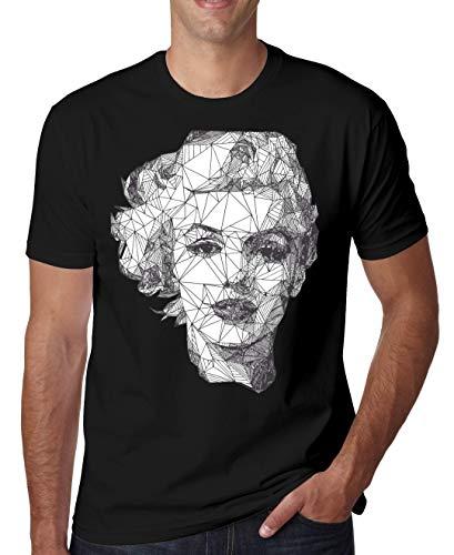 ShutUp Co. Marilyn Monroe Camiseta para Hombre Medium