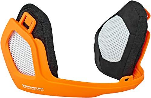 Abus Unisex– Erwachsene Scraper 3.0 Winterk. Helm Zubehör, Signal orange, M