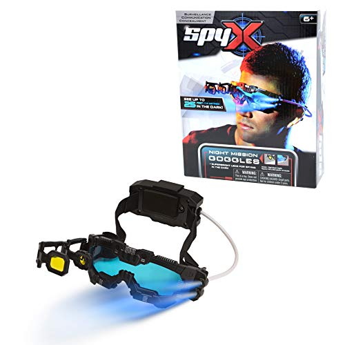 Our #4 Pick is the SpyX Night Mission Goggles