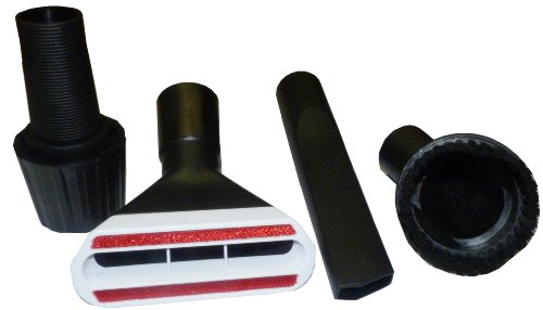 Mister vac A349 Set de brosses avec adaptateur universel 30-39 mm pour aspirateurs à embouts ronds sur tuyau ou manche