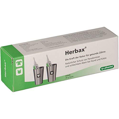 cp-pharma Herbax Zahnpasta für Hunde und Katzen - 70g