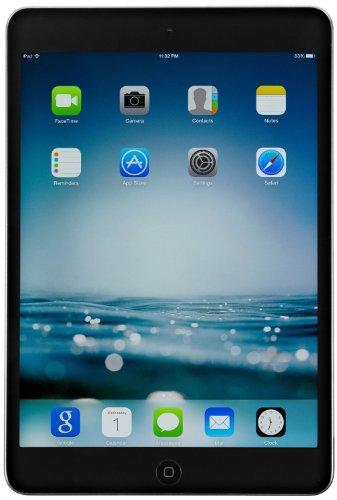 Apple iPad Mini 2 Retina Display Tablet 128GB, Wi-Fi, Space Gray (Refurbished)