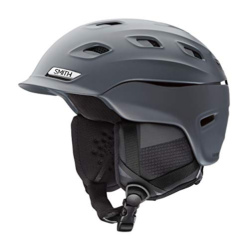 SMITH Erwachsene Vantage M Helm, Matte Charcoal, L/59-63