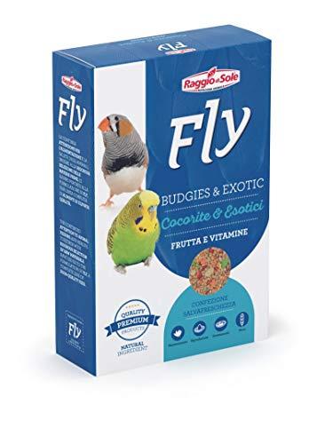 Raggio di Sole Fly Mix semi Cocorite Esotici Frutta E Vitamine
