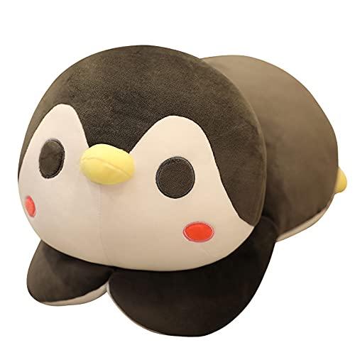 Peluche de pingüino Gordo, muñeco de Animal de Dibujos Animados de Peluche Suave, Regalos de cumpleaños de Navidad y Halloween para niños, niños de 35 cm