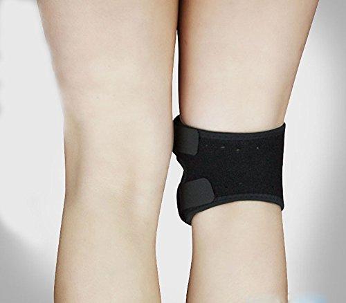 Sporealth Heated Spandex Warm Gaiter Knee Brace Patellar Knee Strap. Best Knee Support / Brace For Patella Tendonitis, Runners or Jumpers Knee