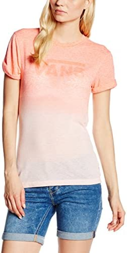 Vans Fade Drop Rocker Slim tee Camiseta para Mujer