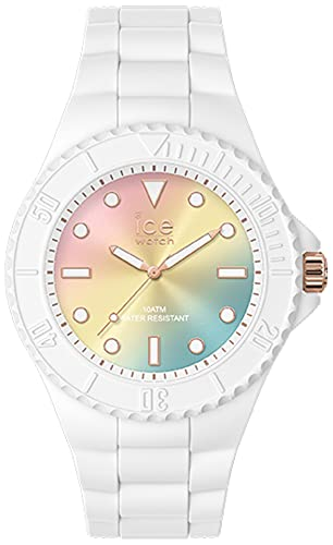 Ice Generation Reloj para Unisex Analógico de Cuarzo con Brazalete de Silicona IC019153