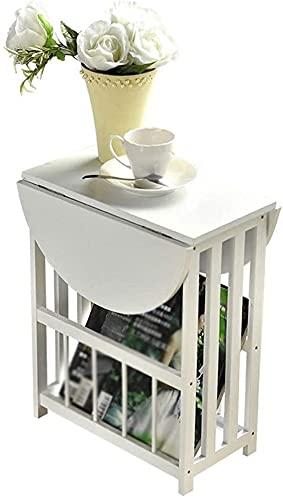 Mesa Simple Mini Plegable Mesa de café balcón Sala de Estar pequeña Mesa Cuadrada Mesa Mesa sofá Mesa Blanco Mesa de Centro Xuan - Worth Having